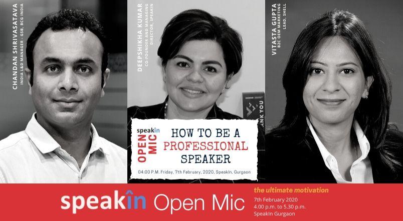 SpeakIn Open Mic