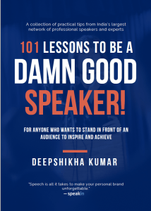 LESSONS TO BE A DAMN GOOD SPEAKER!