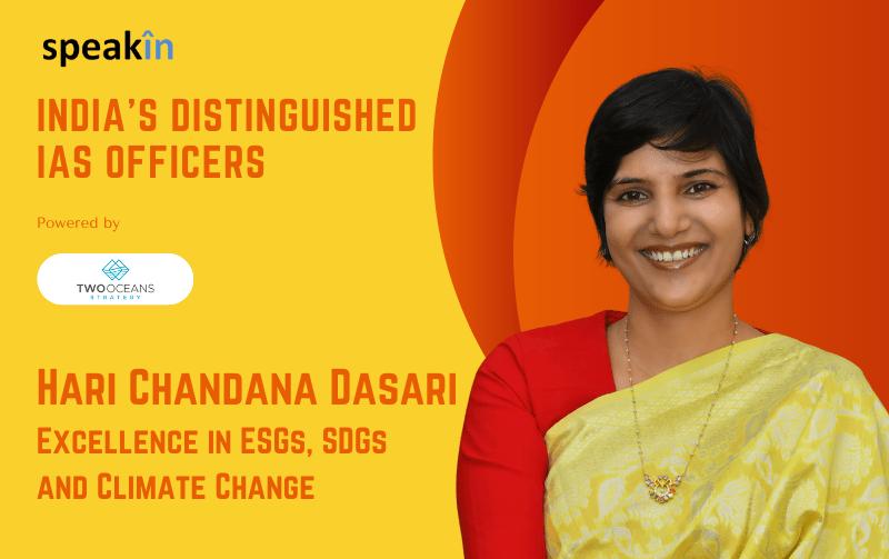 The Eco Warrior IAS Officer - Hari Chandana Dasari