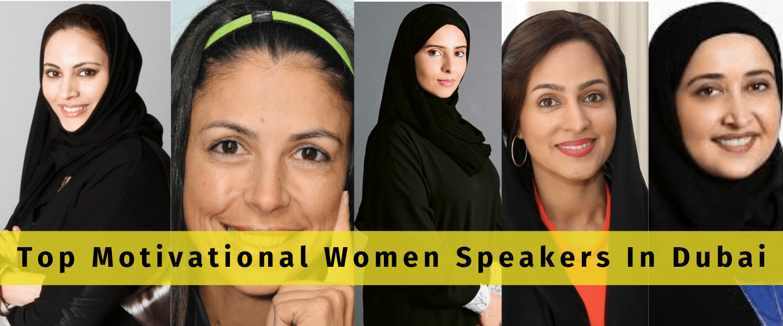 Top Motivational Women Speakers In Dubai