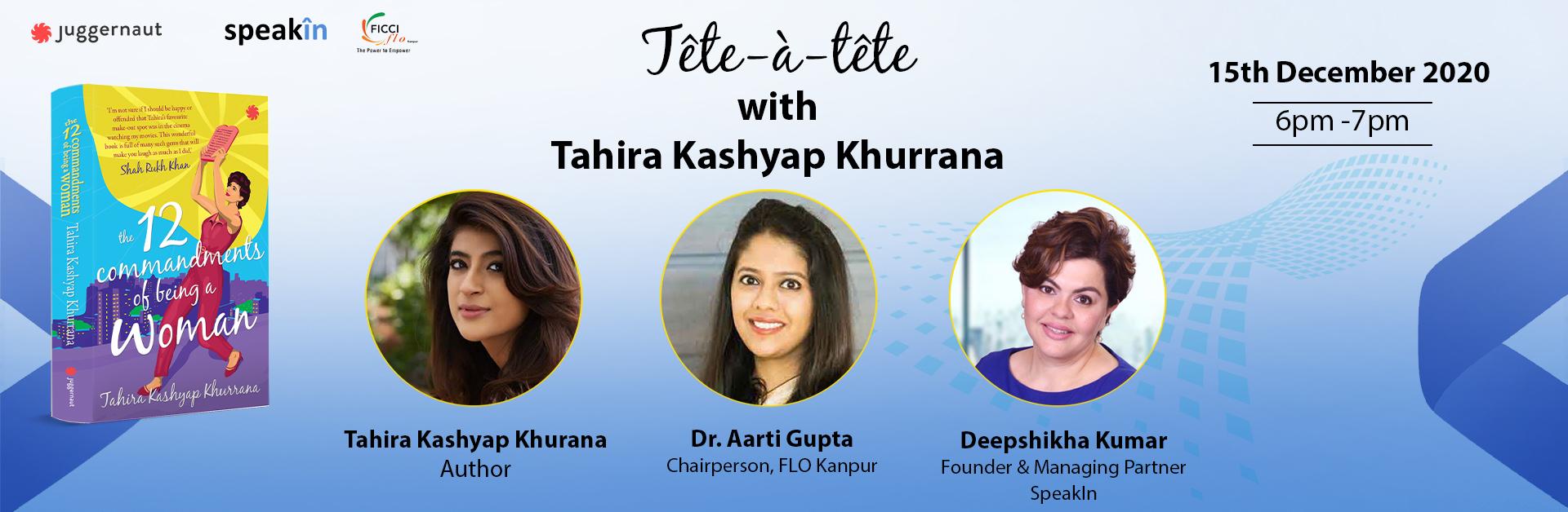 Tête-à-tête with Tahira Kashyap Khurrana