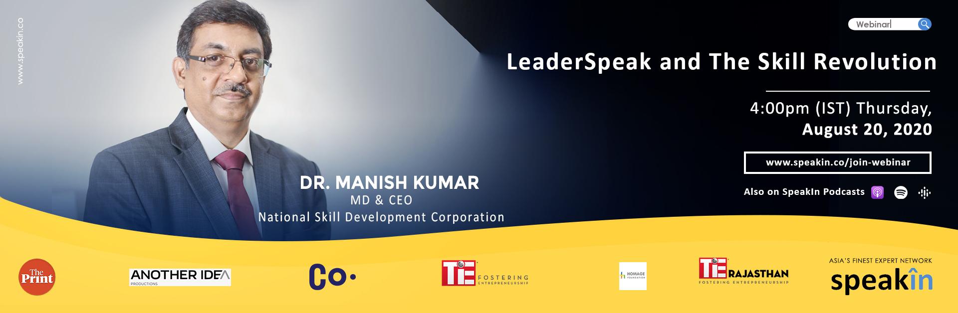 LeaderSpeak and The Skill Revolution