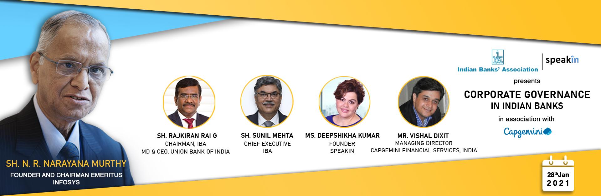 Corporate Governance in Indian Banks - Sh. N.R. Narayana Murthy