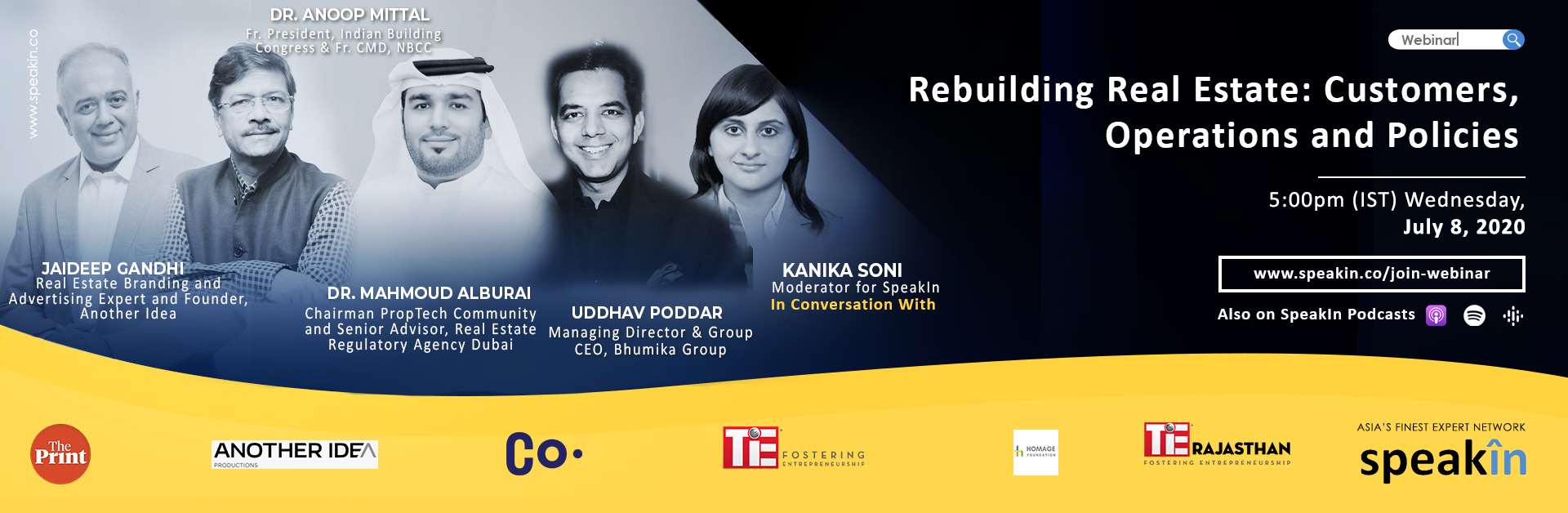Rebuilding Real Estate: Customers, Operations and Policies