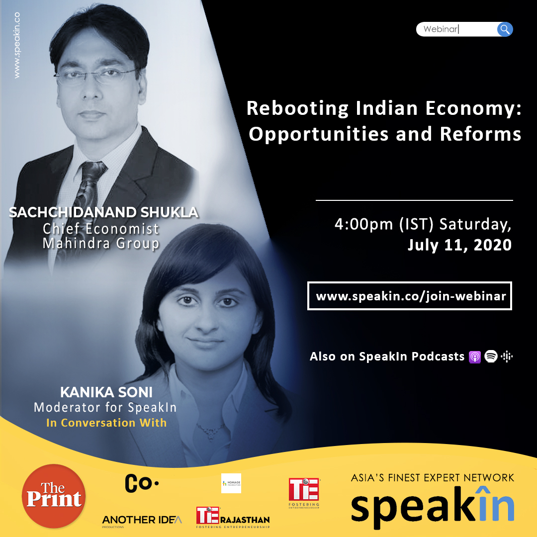 Rebooting Indian Economy: Opportunities and Reforms