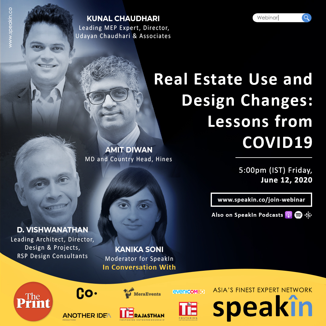 Real Estate Use and Design Changes: Lessons from COVID19