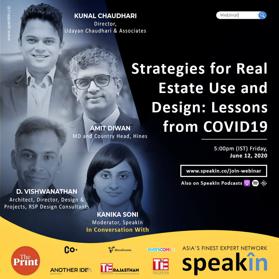 Strategies for Real Estate Use and Design: Lessons from COVID19