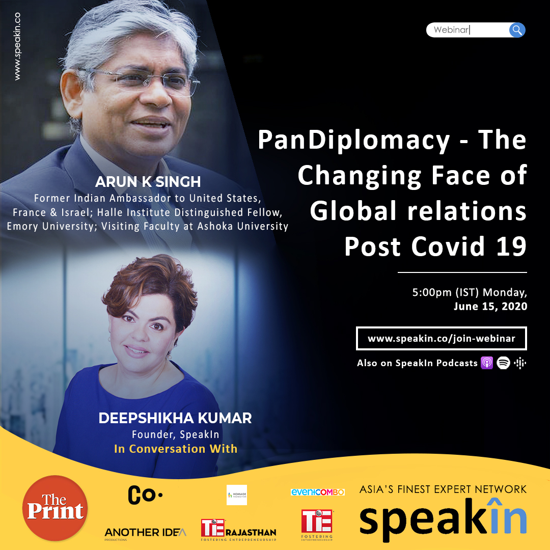 PanDiplomacy- The Changing Face of Global relations Post Covid 19