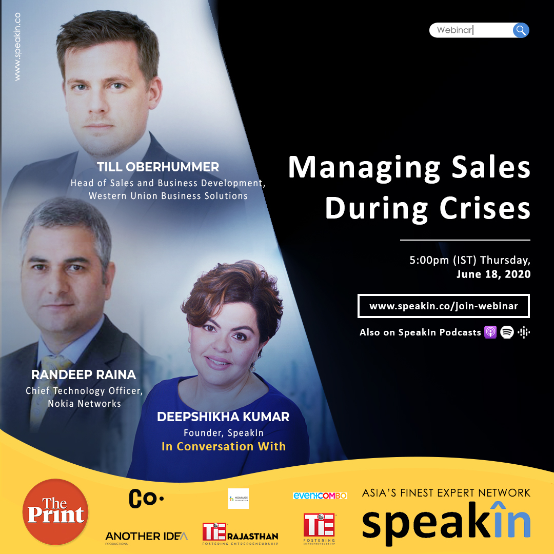 Managing Sales During Crises