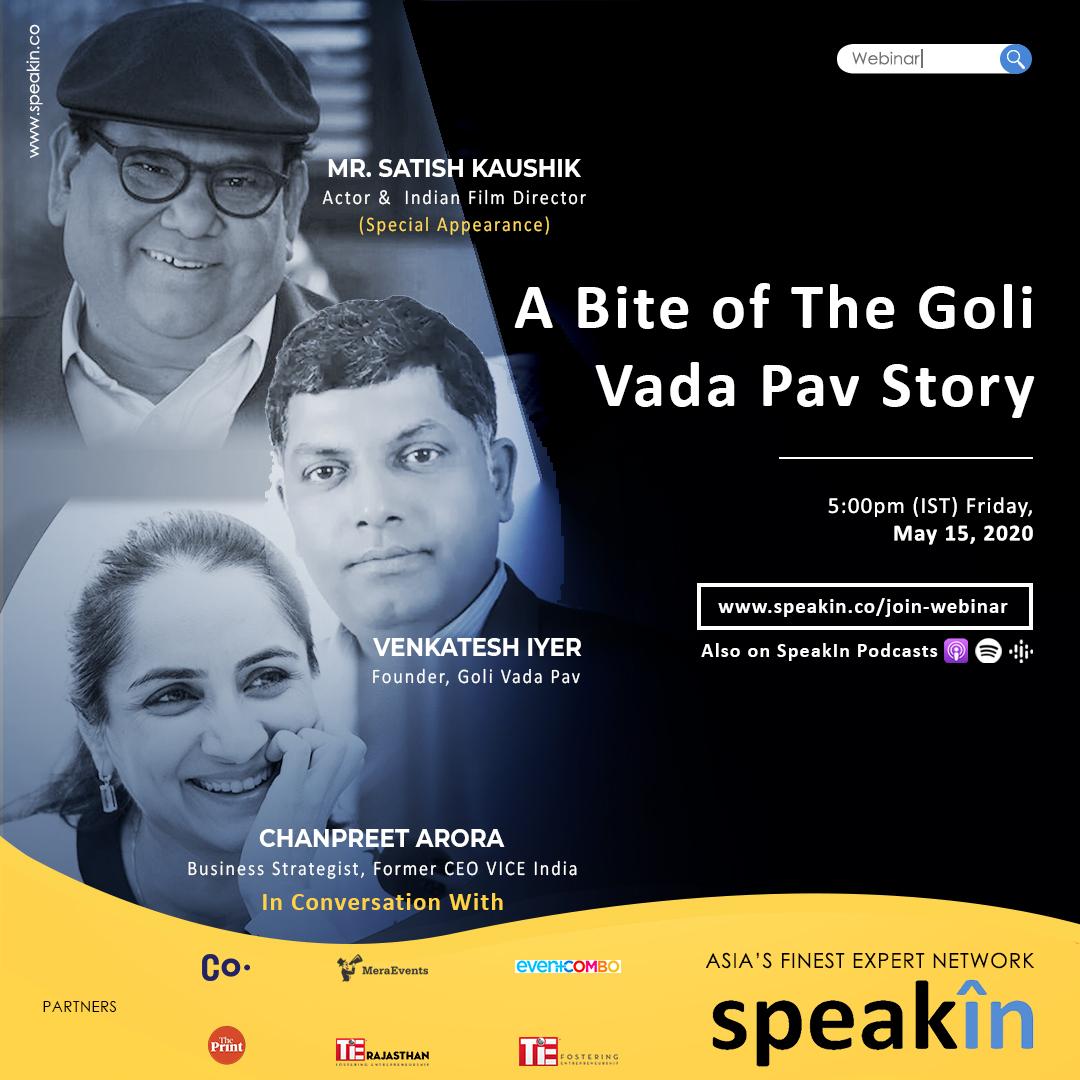 A Bite of The Goli Vada Pav Story