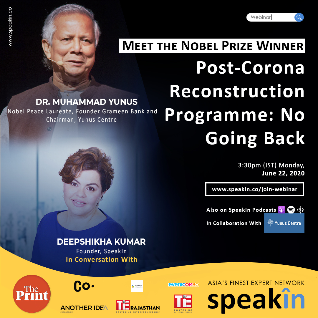 Post-Corona Reconstruction Programme: No Going Back