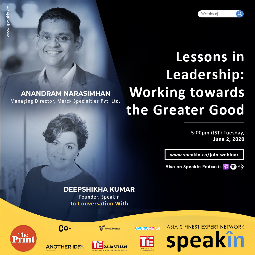 Lessons in Leadership: Working towards the Greater Good