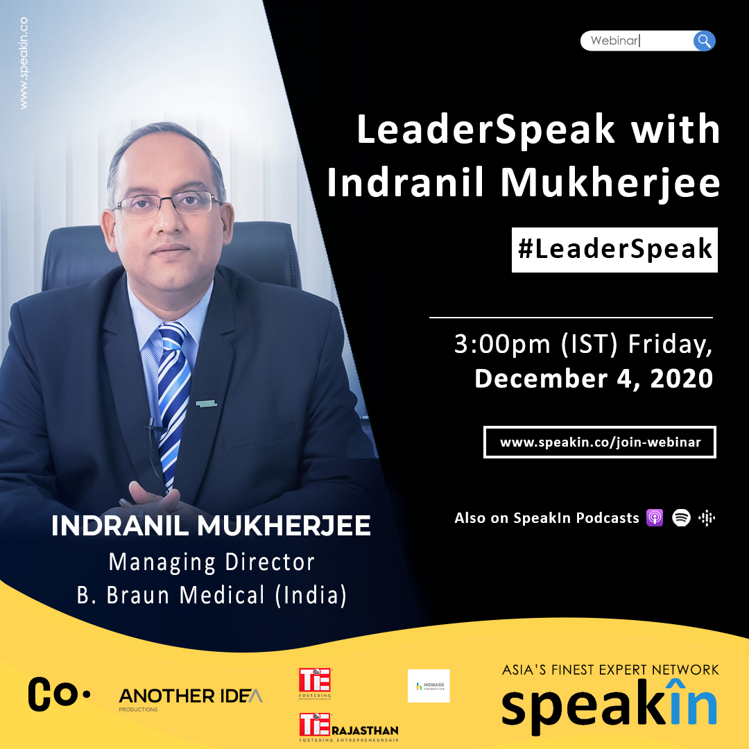 LeaderSpeak with Indranil Mukherjee
