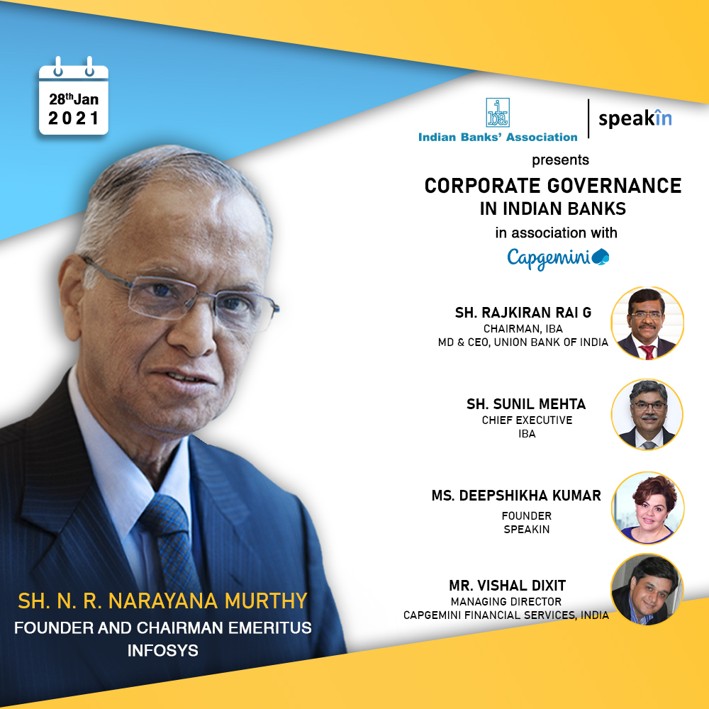 Corporate Governance in Indian Banks - Sh. N.R. Narayana Murthy