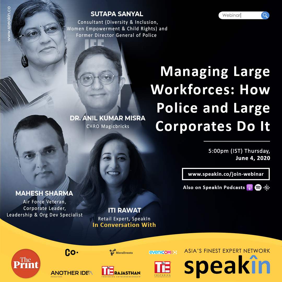 Managing Large Workforces: How Police and Large Corporates Do It