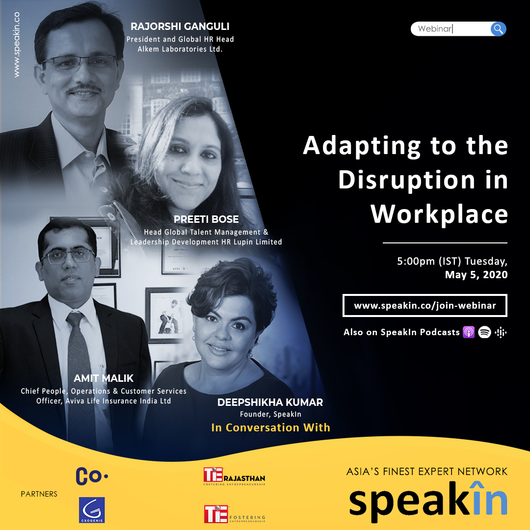 Adapting to the Disruption in Workplace