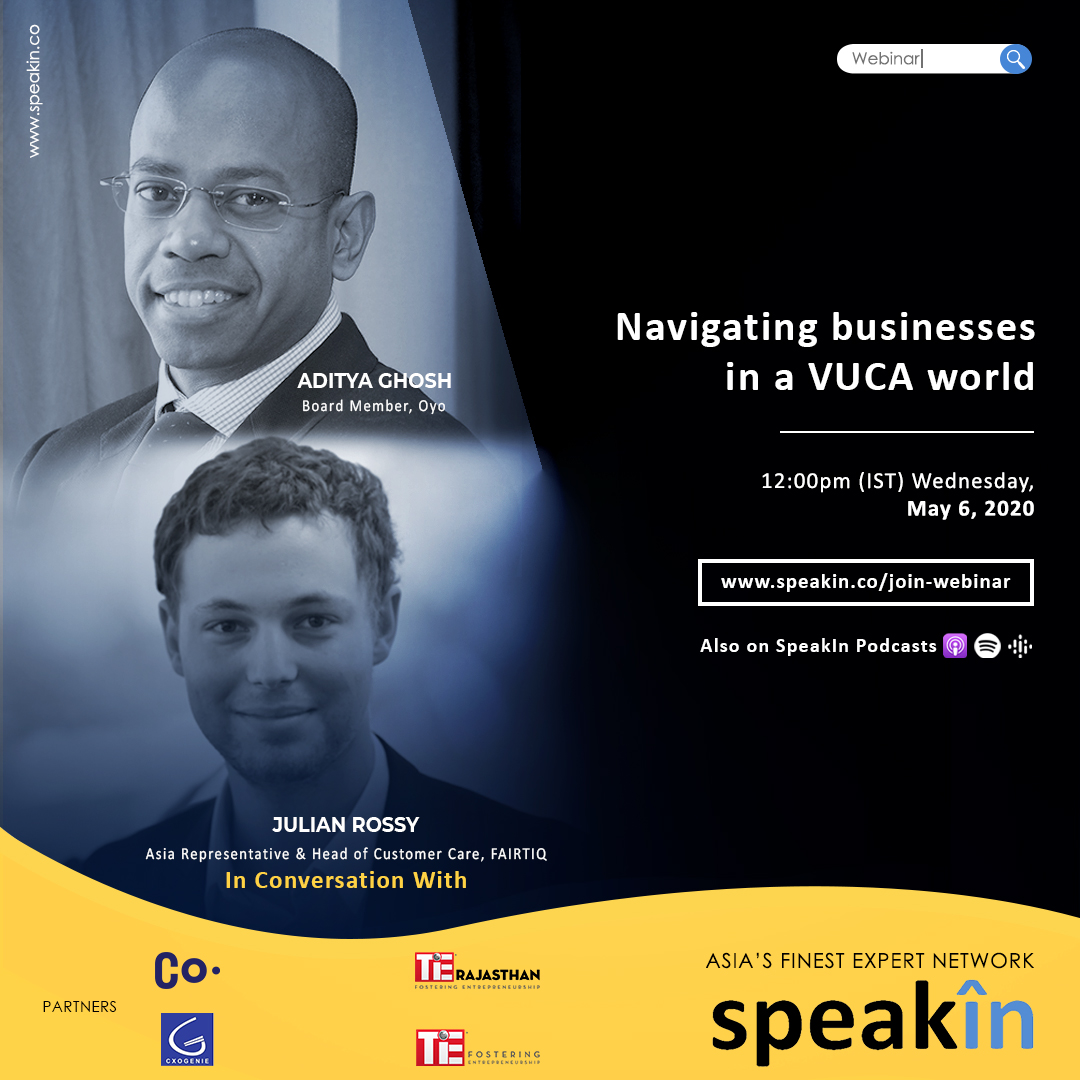 Navigating businesses in a VUCA world