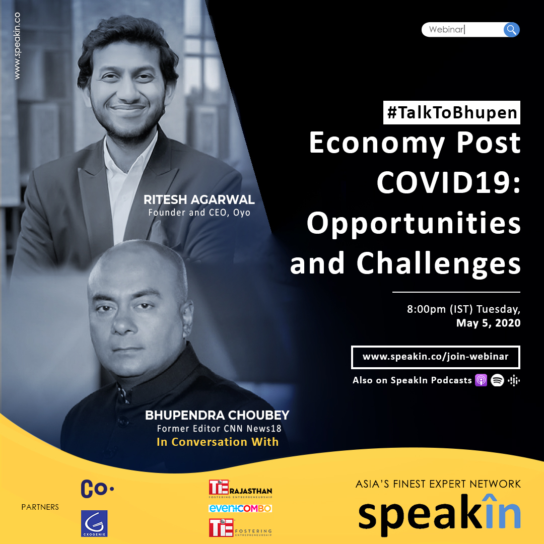 Economy Post COVID19: Opportunities And Challenges