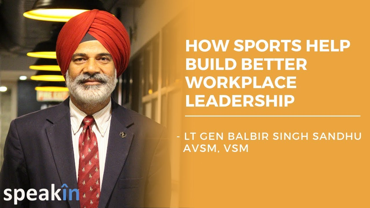 How sports help build better workplace leadership