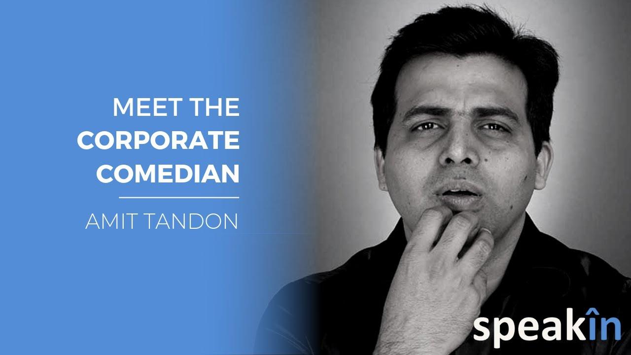 Meet the corporate comedian