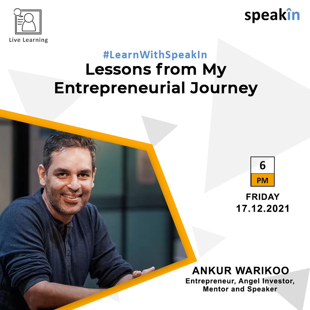 Lessons from My Entrepreneurial Journey