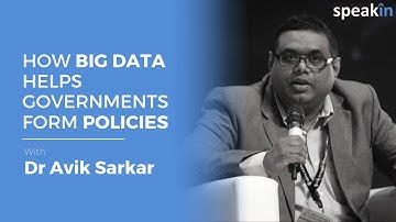 How big data helps government to form policies