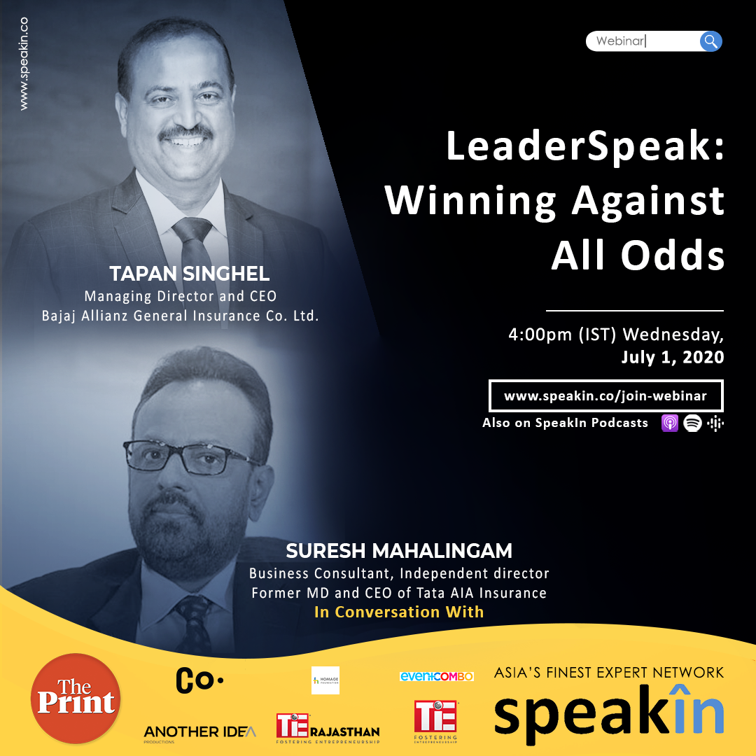 LeaderSpeak: Winning Against All Odds