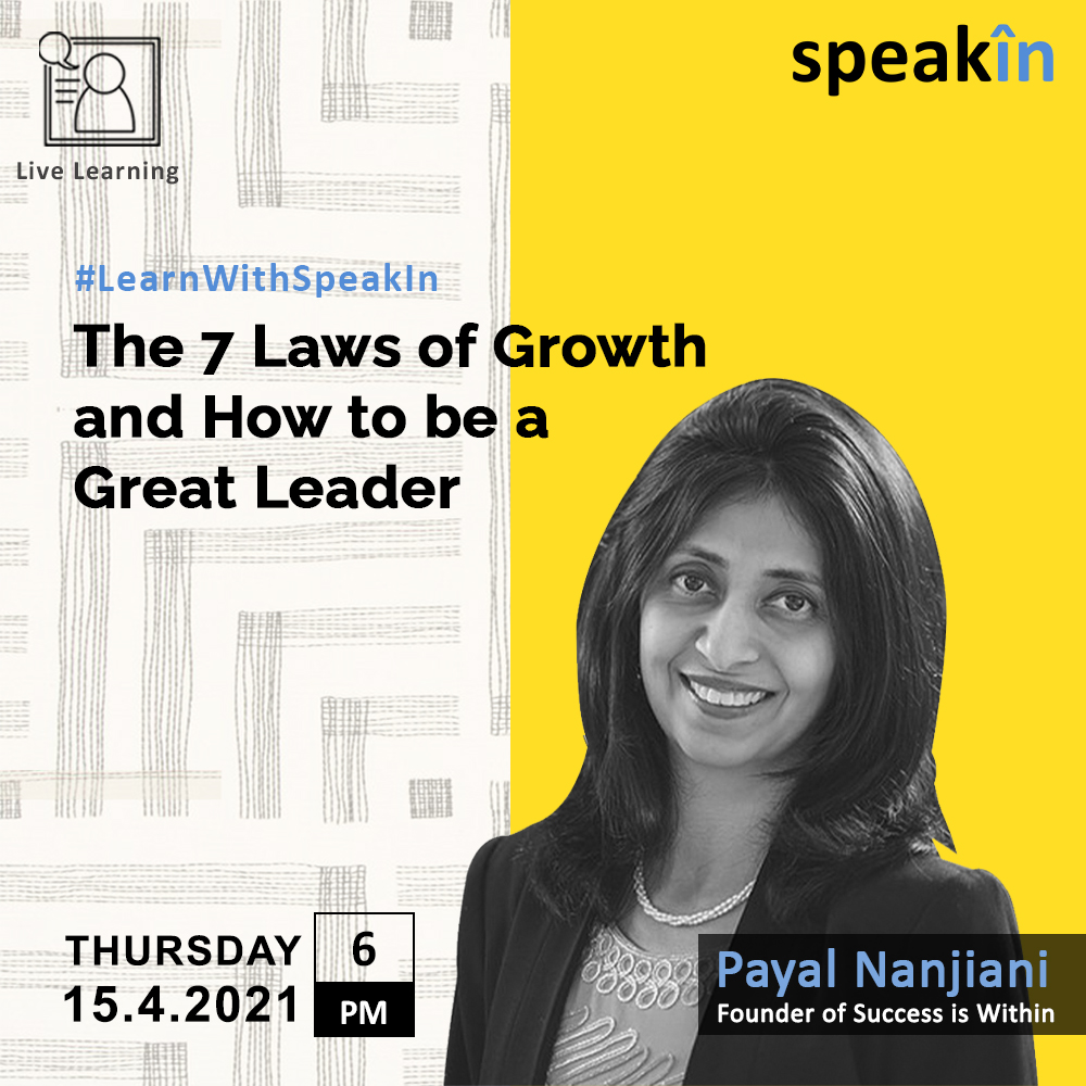 The 7 Laws of Growth and How to Be a Great Leader