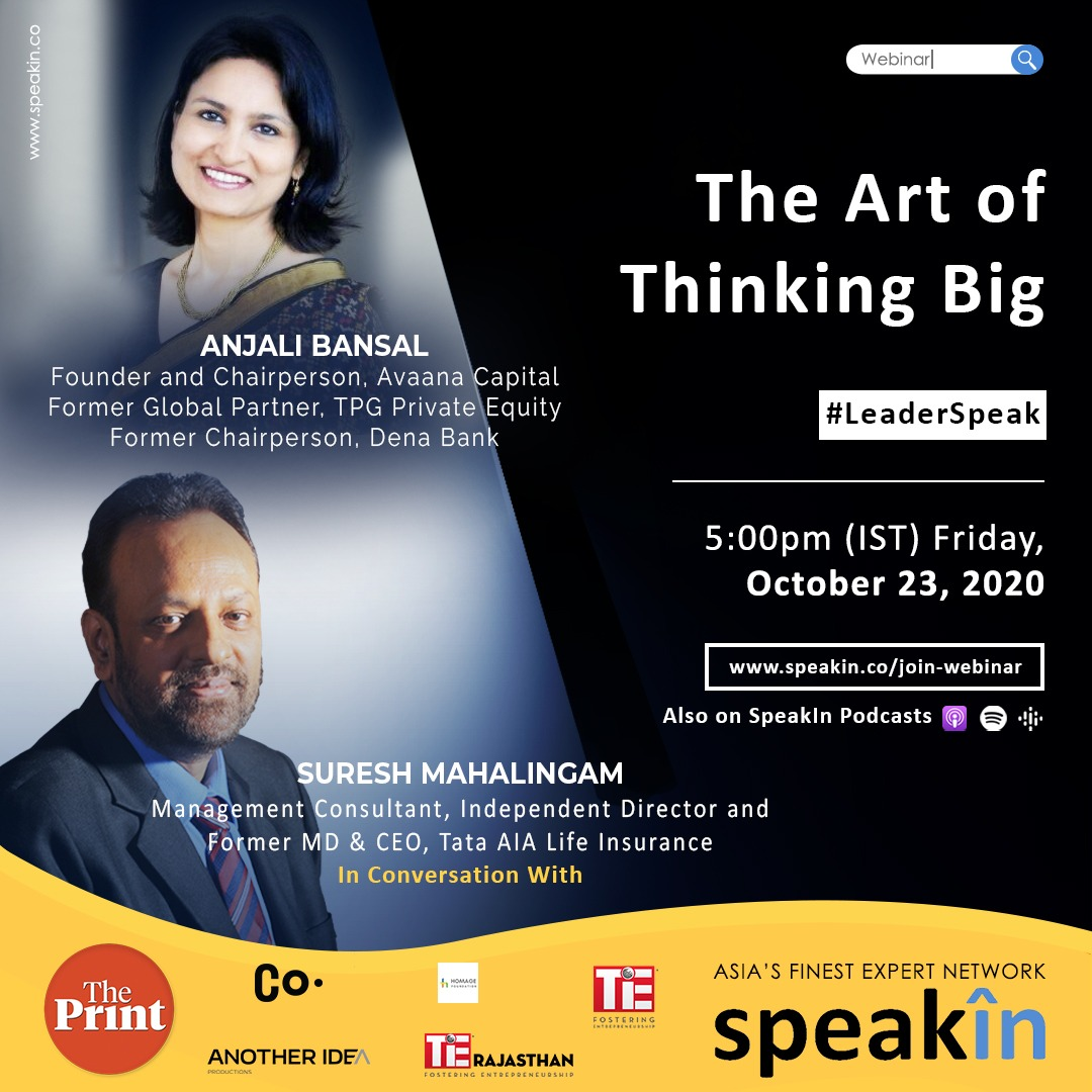 The Art of Thinking Big