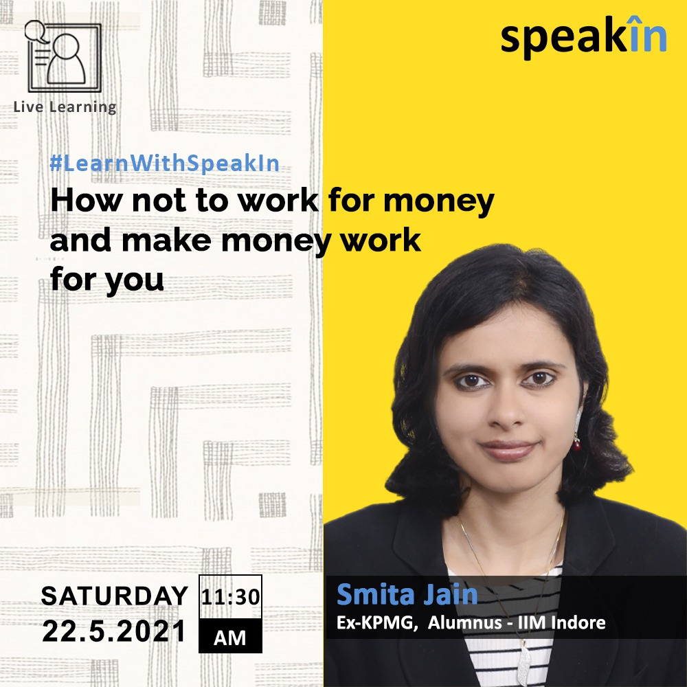How not to work for money and make money work for you